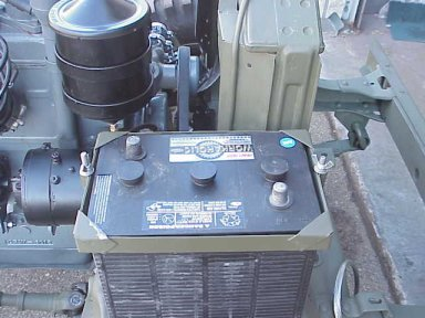 G503 WWII Jeep Configuration of First Go Devil Engine