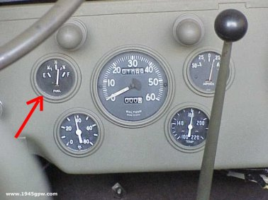 G503 WWII Jeep Willys MB or Ford GPW Military Vehicle Fuel Gauge or Ford Fuel Gauge Wiring on ford backup camera wiring, ford tail light wiring, ford electric choke wiring, ford wiper switch wiring, ford fuel sending unit wiring, ford headlight assembly wiring, ford fuel pump wiring, ford fuel pump replacement, ford distributor wiring, ford fuel injector wiring, ford tachometer wiring, ford clutch master cylinder wiring, ford glow plug relay wiring, ford ignition module wiring, ford steering column wiring, ford taurus fan wiring, ford electric brake wiring, ford fuel sending unit replacement, ford dimmer switch wiring, ford power mirror switch wiring,