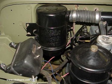 G503 WWII Jeep Oil Bath Air Filter conversion to Dry Air ...