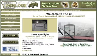 g503 wwii jeep willys mb or ford gpw military vehicle rapco snake